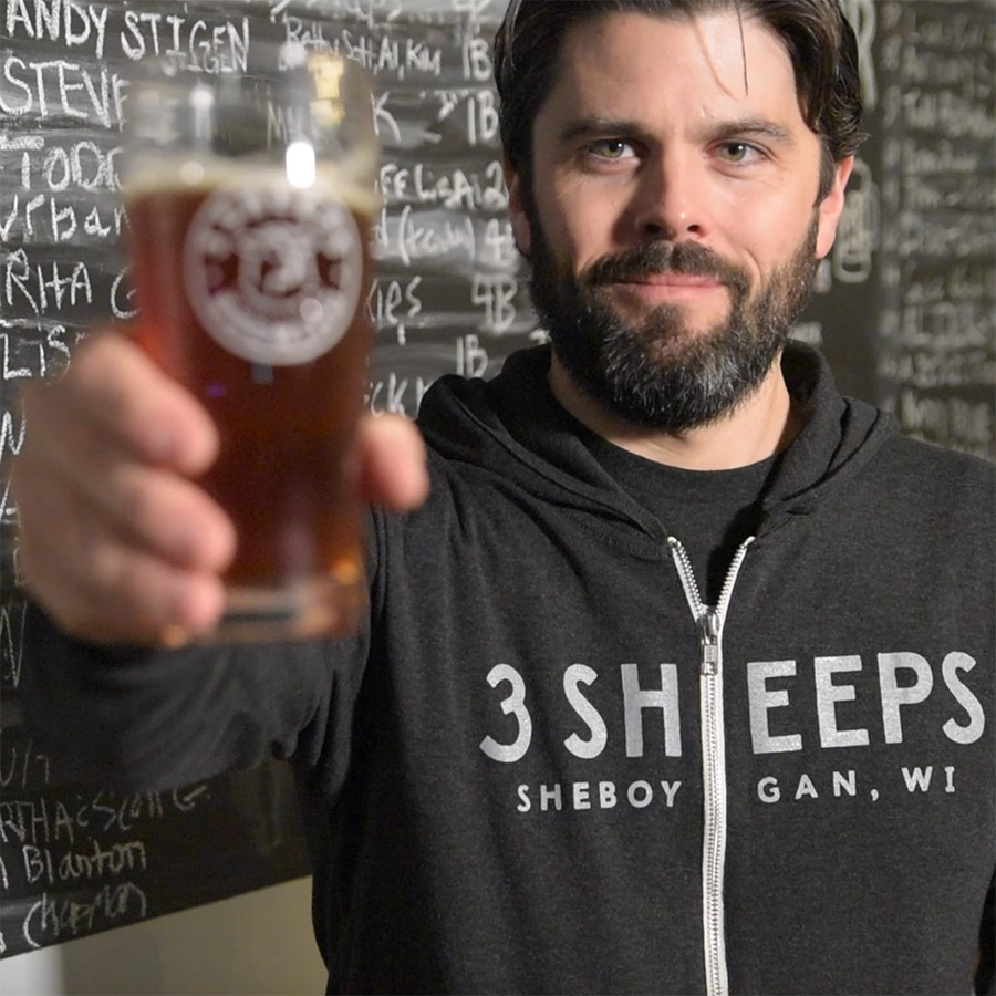 3 Sheeps Brewing - Owner, Grant Pauly