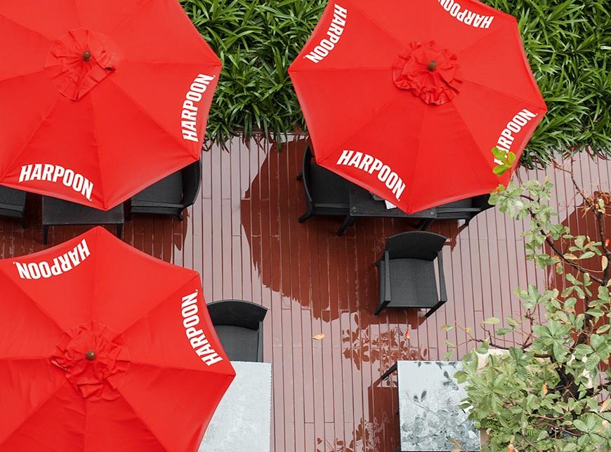 beer garden umbrellas