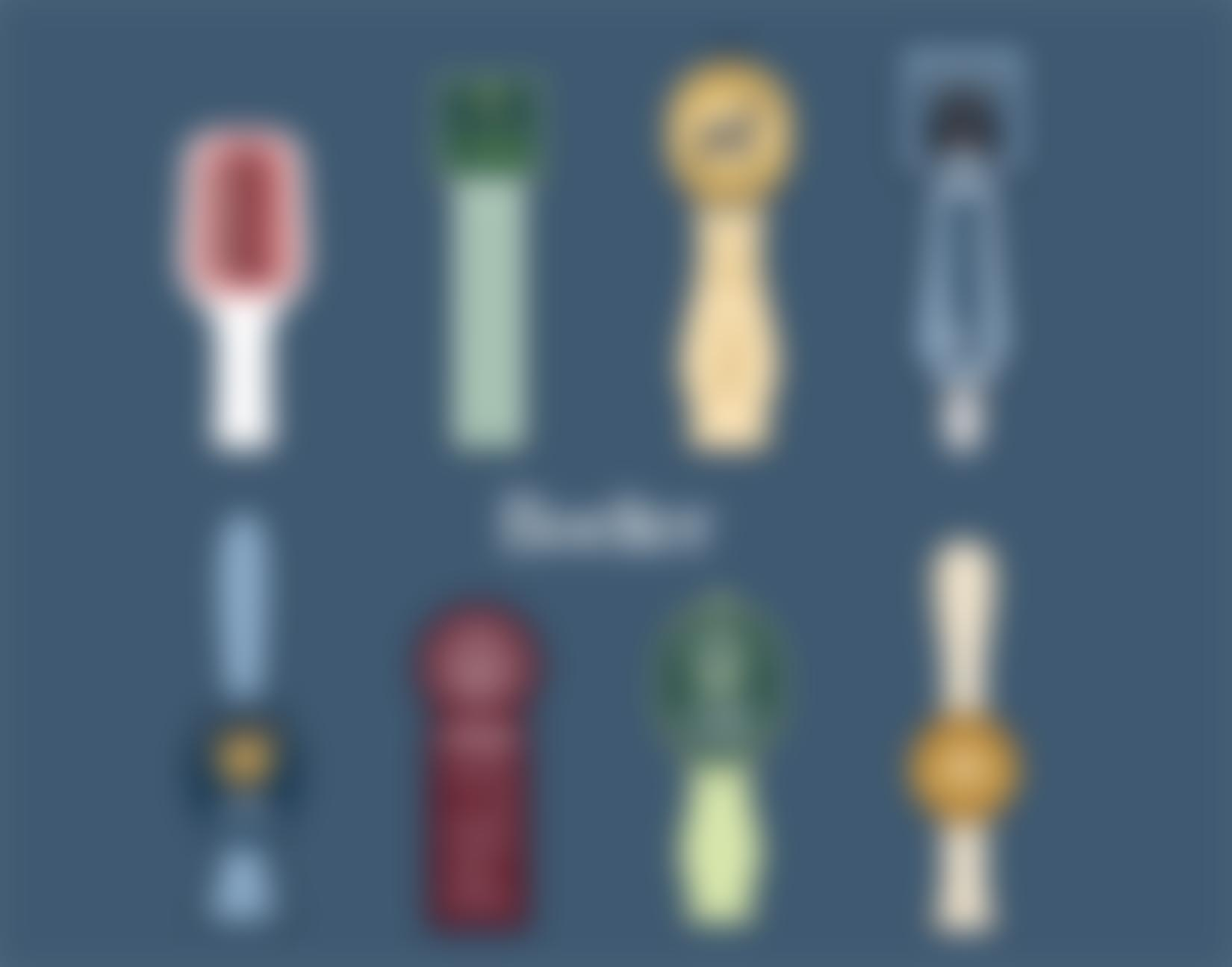 Seasonal Holiday Tap Handle Infographic Background