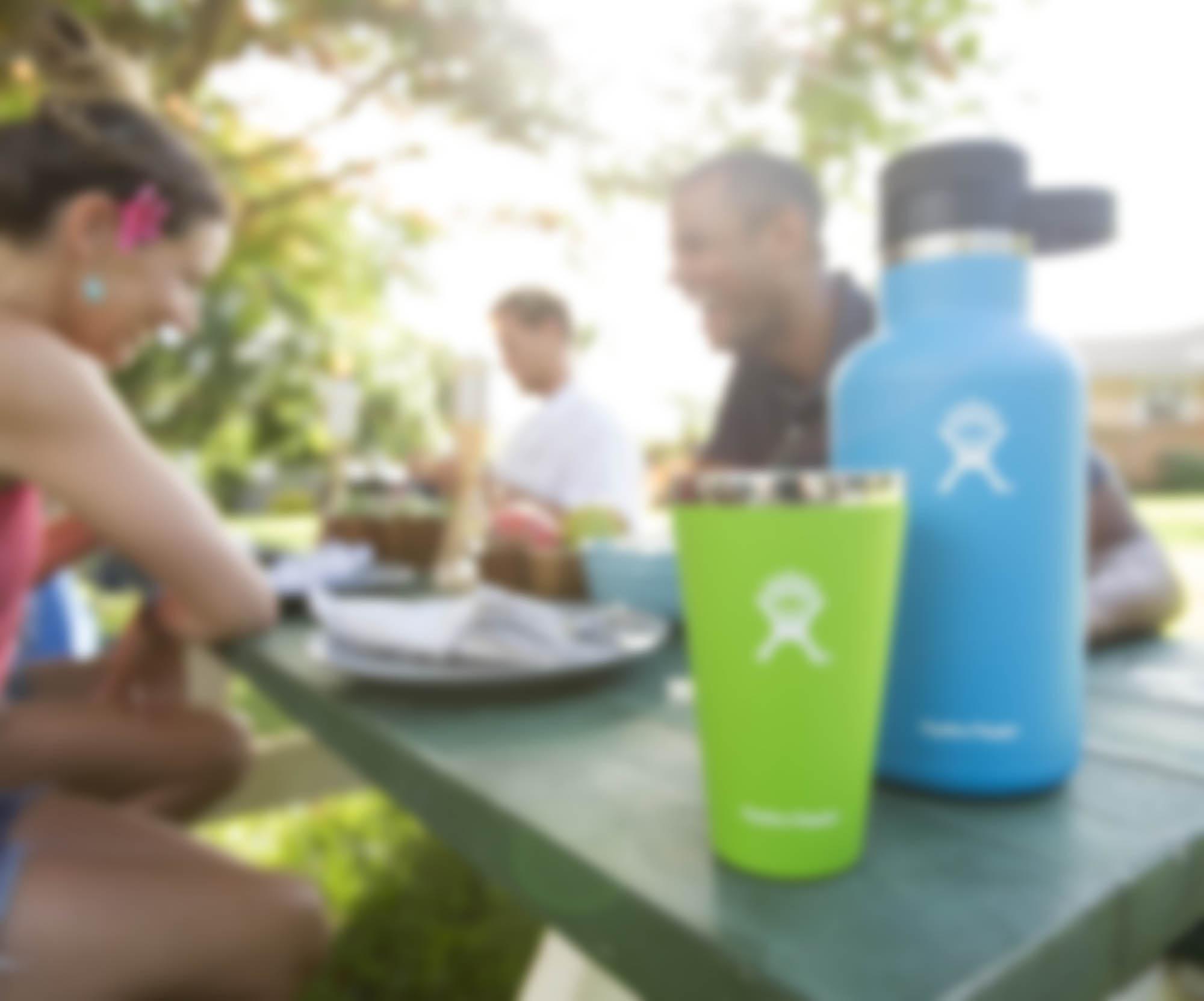 Hydro Flask Growlers - blurry