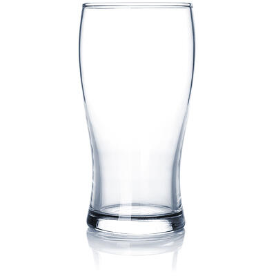 Clean, empty pint glass